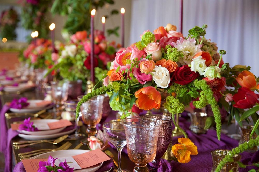purple and red reception table.jpg