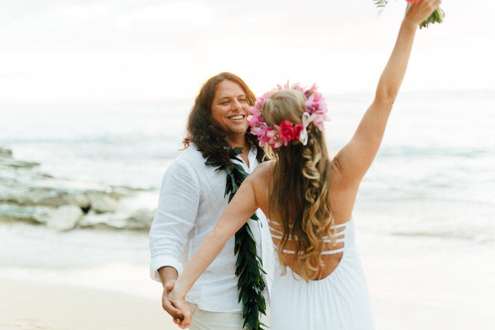 Bright Hawaii Wedding