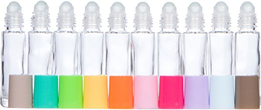 Multi Colored Roller Bottles