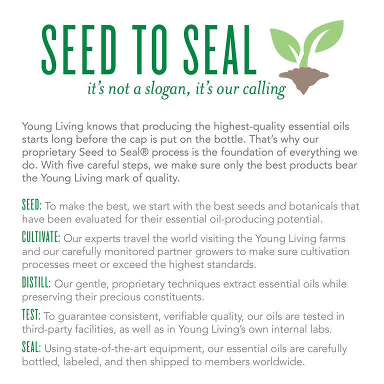 seed to seal young living