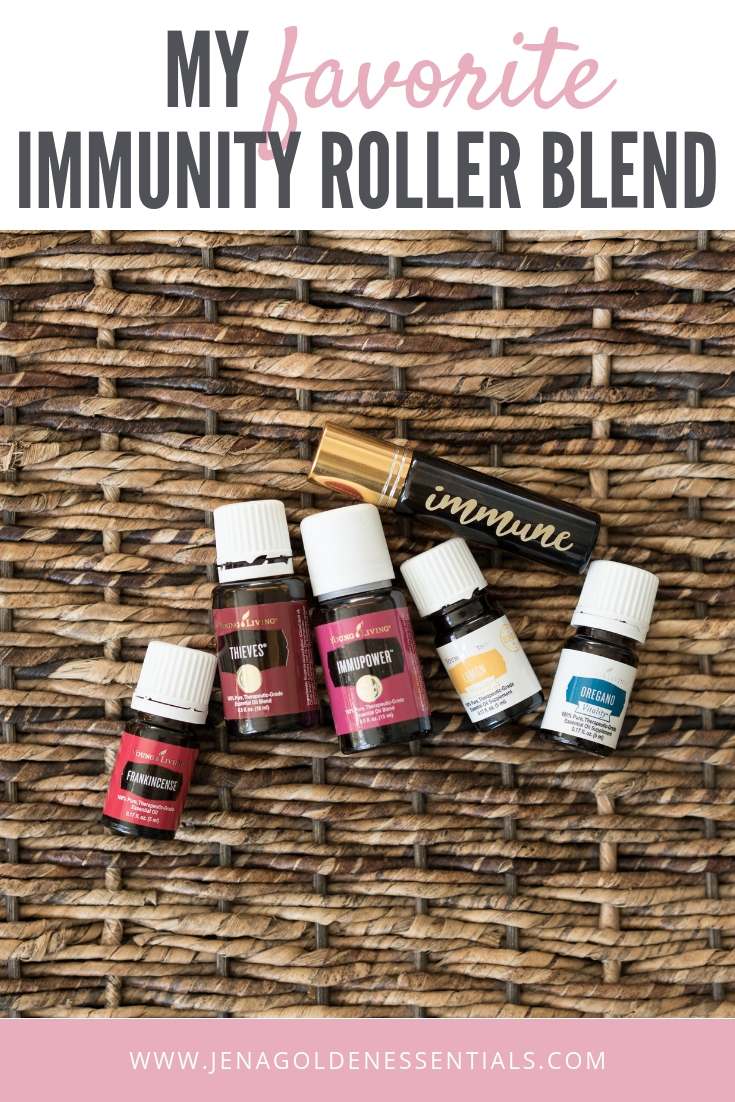 My Favorite Essential Oil Immunity Roller Blend - Frankincense, Thieves, Immupower, Lemon, Oregano