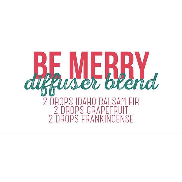 Since it's the season and all ... Loving this diffuser blend in our home right now! 🎄❤️