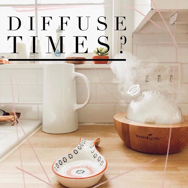 A common question I get is how long should I run my diffuser? And why does the label say only to diffuse for 30 minutes?  ANSWER: Exposure to a high concentration of essential oil over a long period of time (more than 30 minutes) may cause a headache, but unless someone is nebulizing pure essential oil in a tented environment, this is not a common occurrence.  Our diffusers are not nebulizers.  I fill up my diffuser with water. Put anywhere from 4-8 drops of oil in it. And run it till it stops.  At night it's running for 8 hours straight right on my bedside table! Lavender and Stress Away in case you were wondering 😉