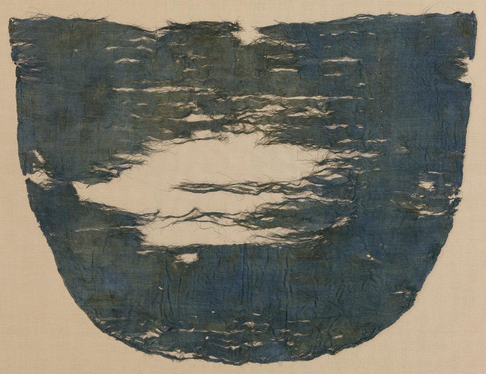 Blue Kerchief from Tutankhamun's Embalming Cache