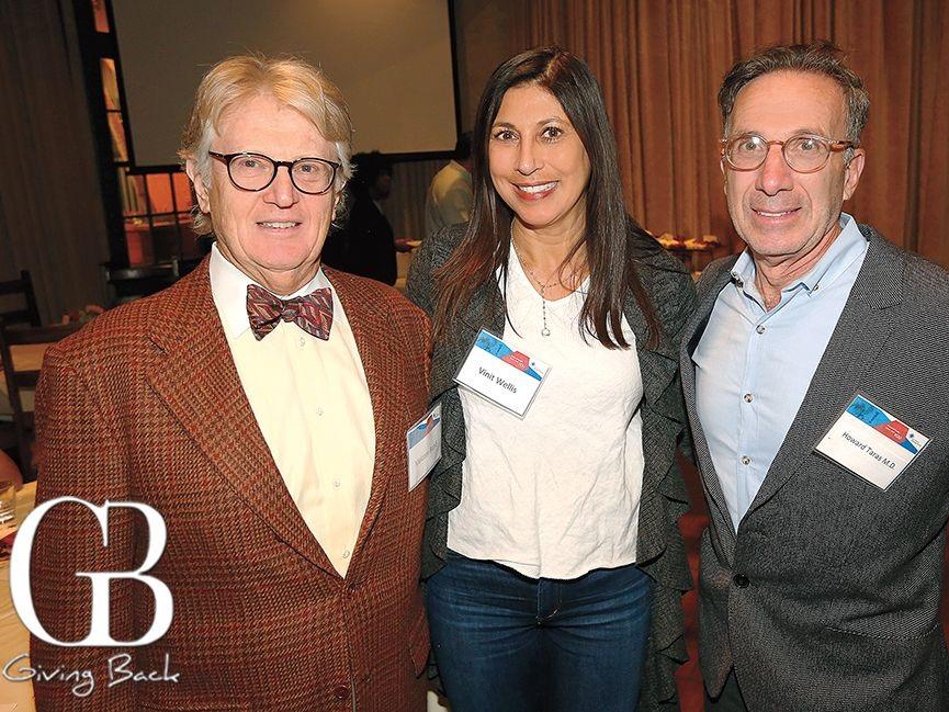 Malcolm Bund ,  Vinit Wellis, M.D.,  and panelist  Howard Taras