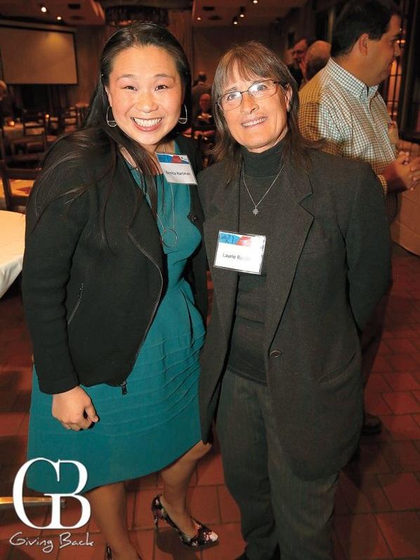 Benita Hartman  and philanthropist  Laurie Roeder