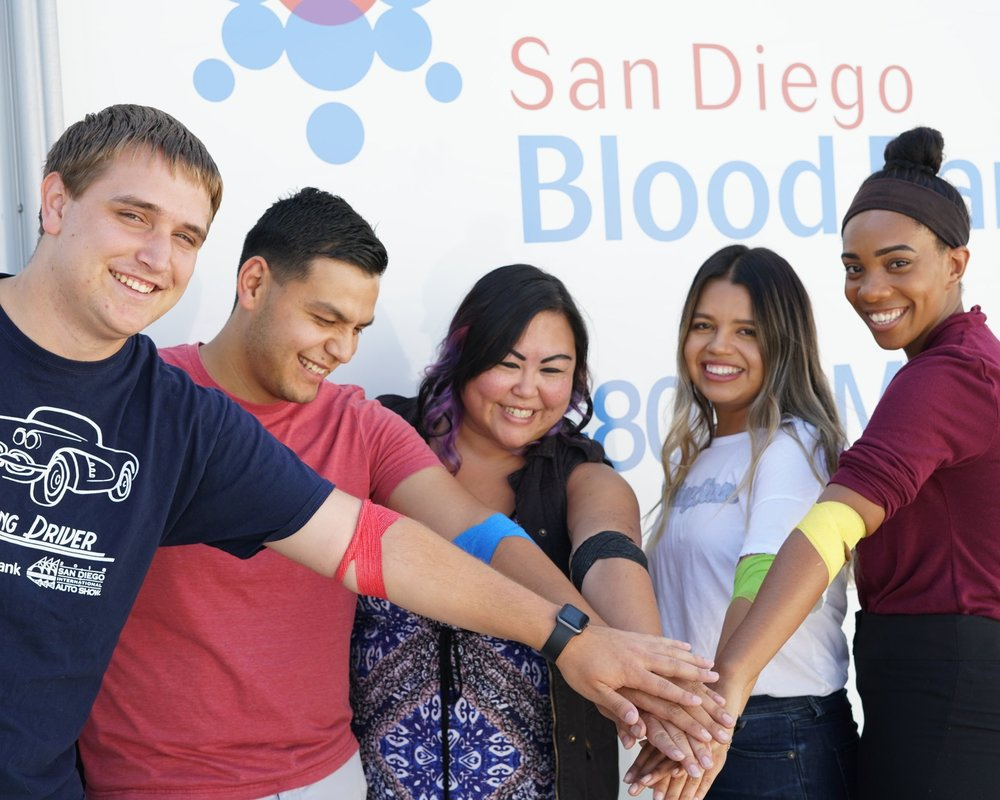 friends of SDBB - Partner with us by joining the Friends of SDBB group. As a member, you will advocate and help build community awareness and philanthropic support of San Diego Blood Bank's healthcare role through social media campaigns and other community outreach events.