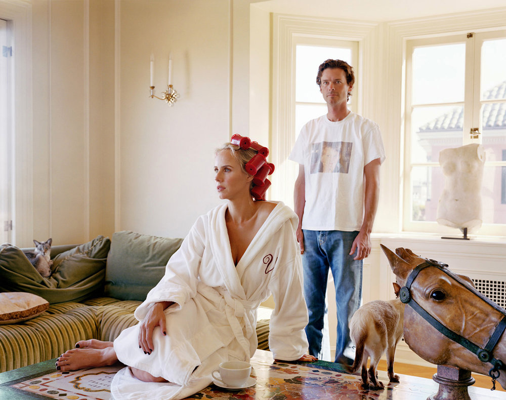 Billy & Vanessa Getty by Larry Sultan
