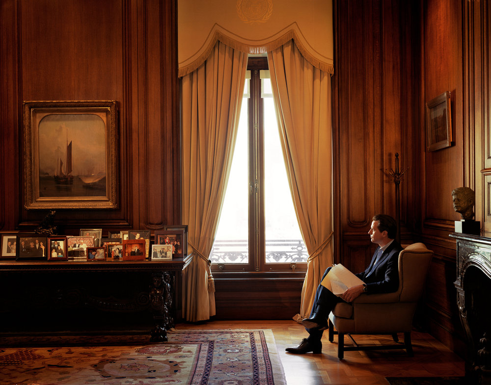 Gavin Newsom by Larry Sultan