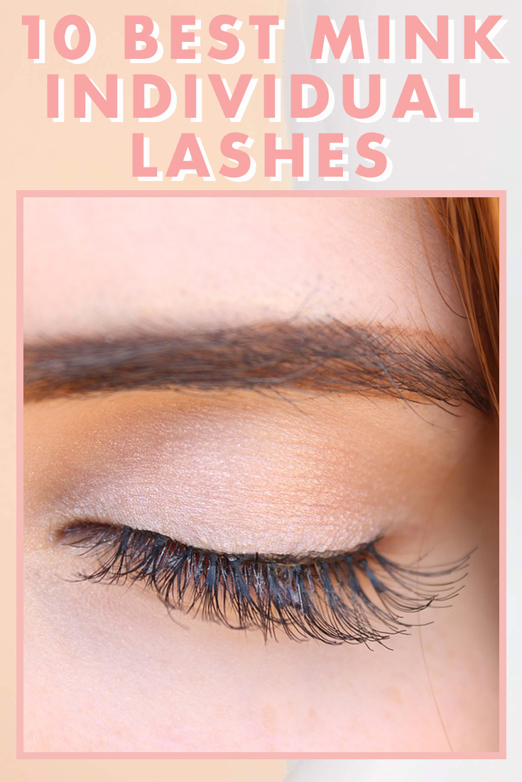 The 10 Best Mink Individual Lashes Blushcon