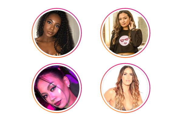 12:00 PMHow to Work with Brands as a MicroInfluencer - Panelists: Destiny Taylor, Christine Bumatay, Jazmine Valencia (Agency Owner), Anna Explore Beauty, Amanda Terry