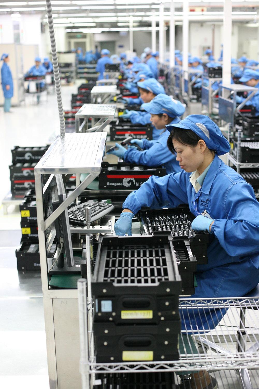 La magnitud de la fabricación china forma parte de las cadenas de suministro en muchas industrias.