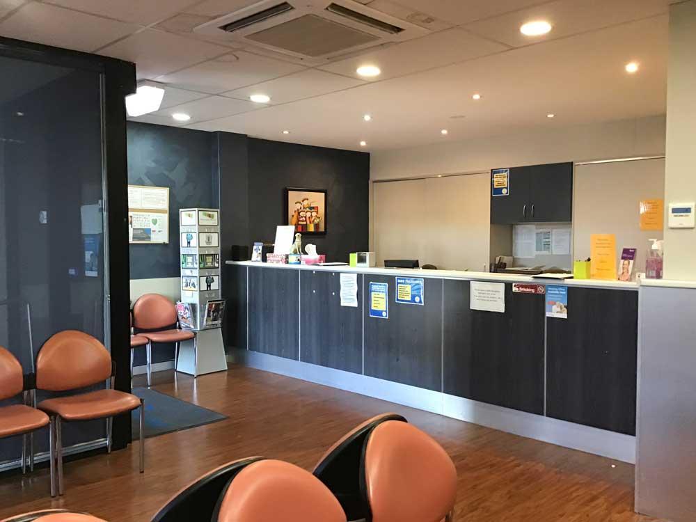 Reception Edith-Street-Medicentre, Wynnum, Australia.jpg