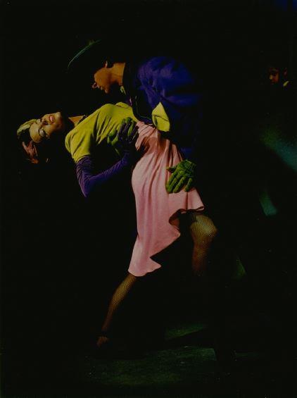 """Modern Dancers:  """"Harlem Number,"""" Versailles Café, 1930s"""
