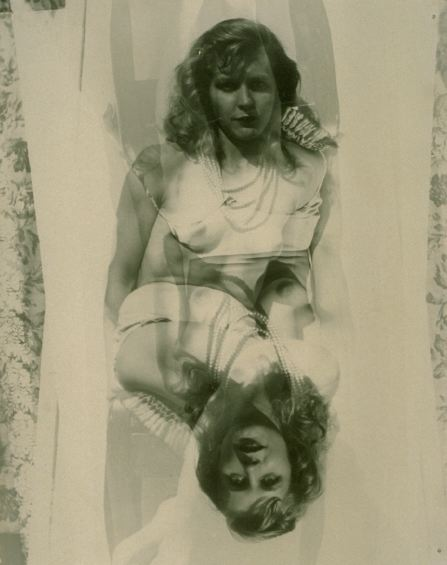 Untitled (Marie, image reversed), 1940s-1950s