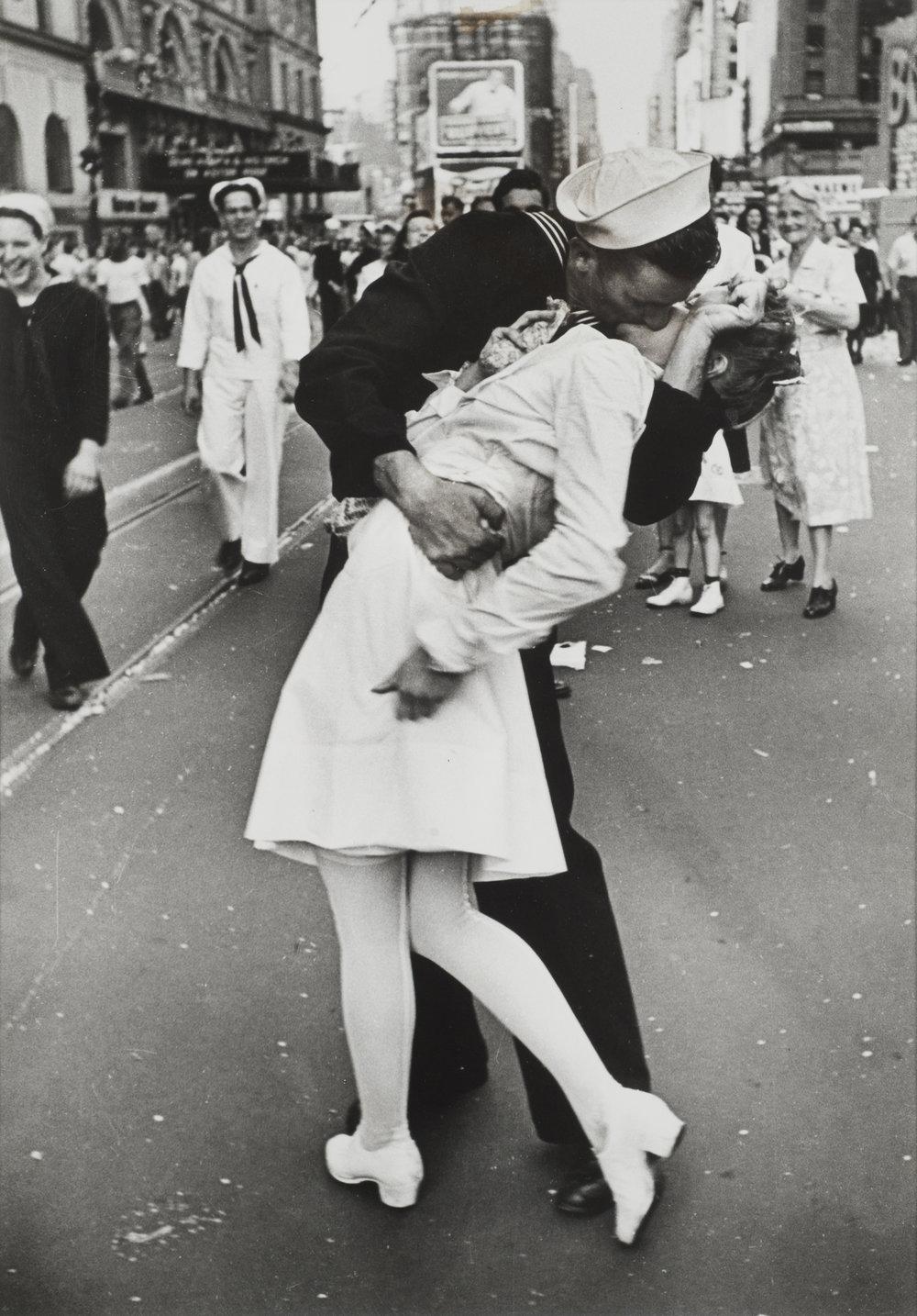V-J Day, Times Square, 1945