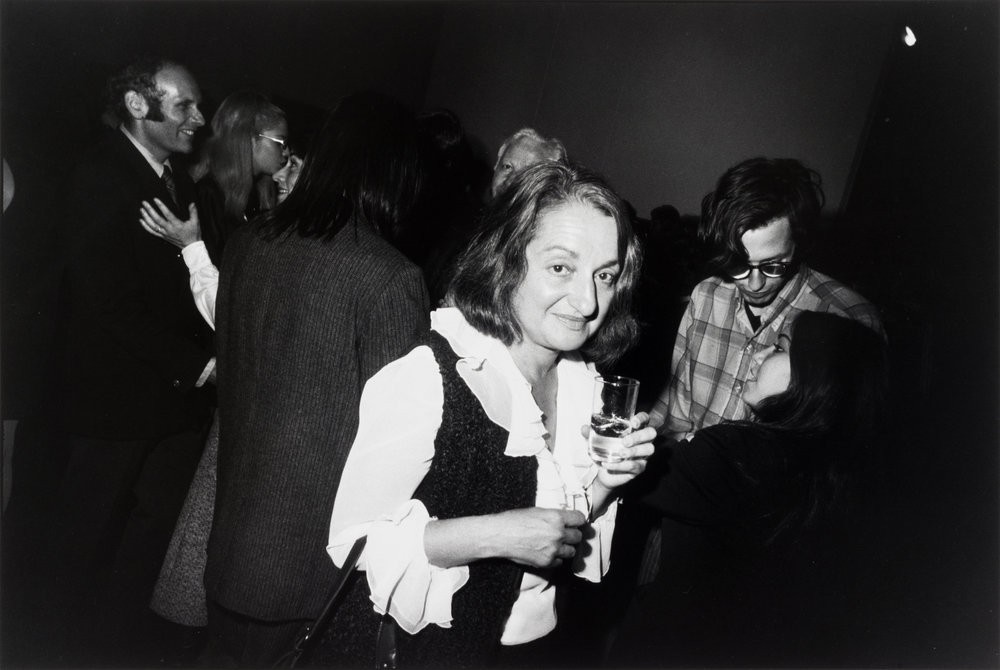 Betty Friedan, Opening at the Whitney Museum, 1969