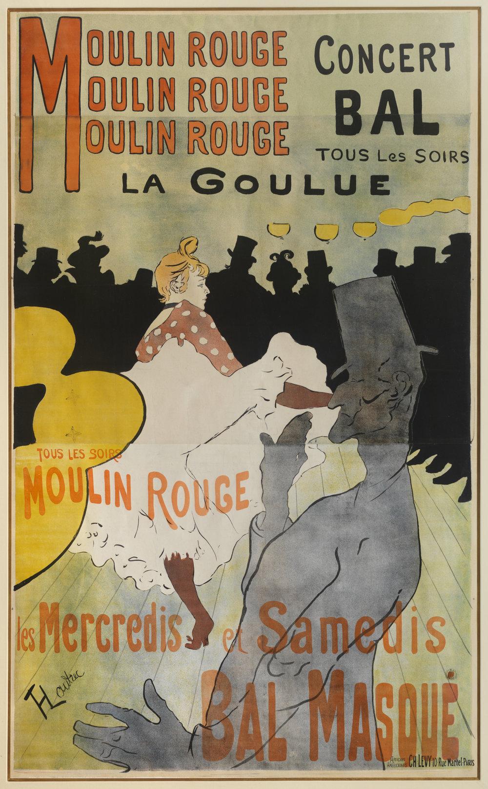 Moulin Rouge, La Goulue, 1891