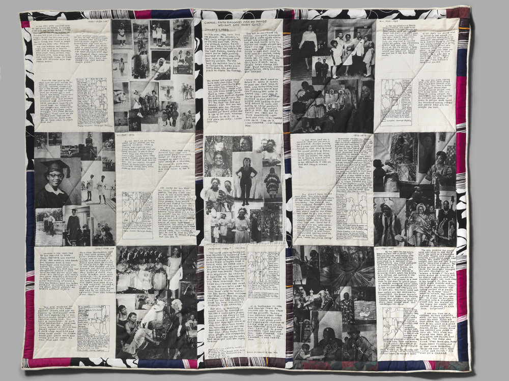 """Change:  Over 100 Pound Weight Loss Performance Story Quilt"", 1986"