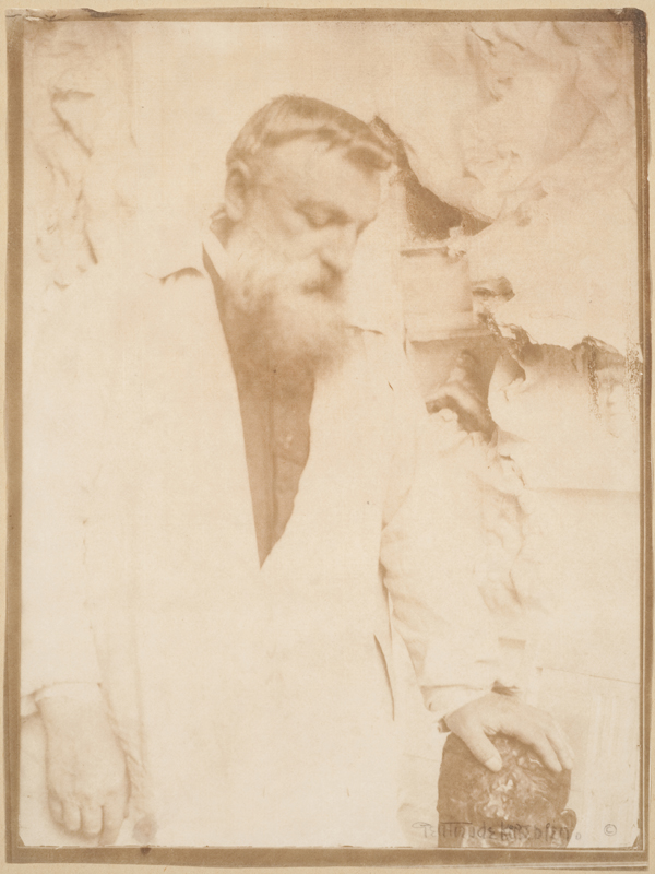 Auguste Rodin in His Studio, 1906