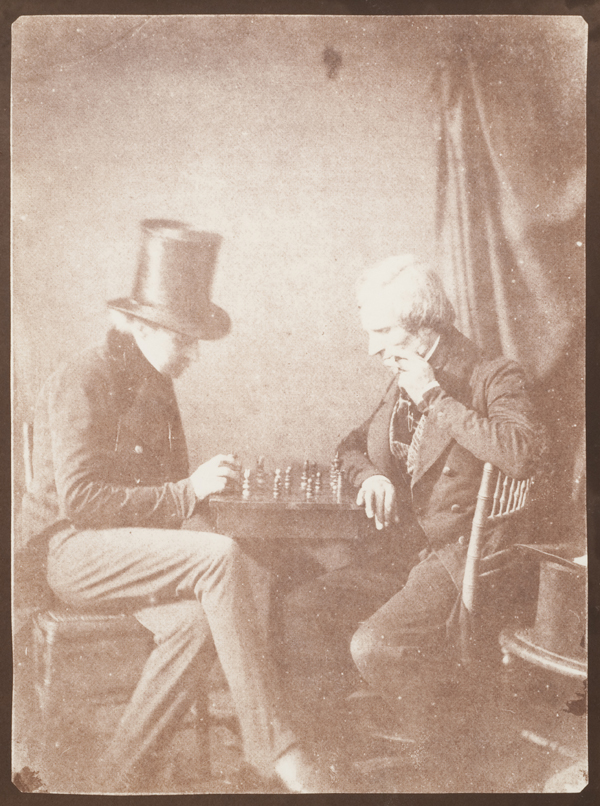 Chess Players, ca. 1844