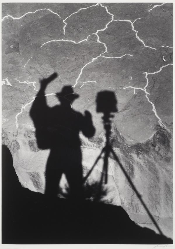 Self-Portrait, Monument Valley, Utah, 1958
