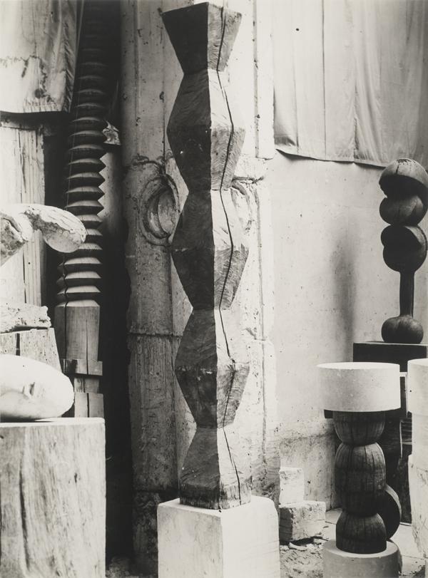 Interior of Brancusi Studio, ca. 1928
