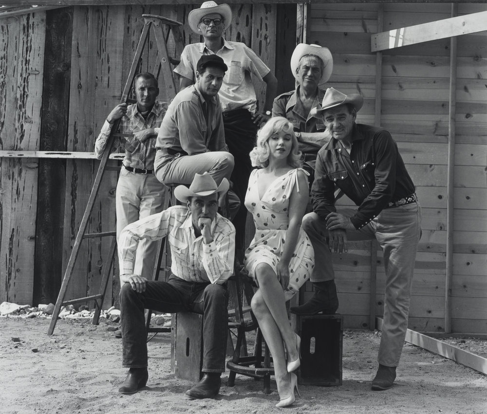 "Marilyn Monroe and Cast of ""The Misfits"", 1950s"