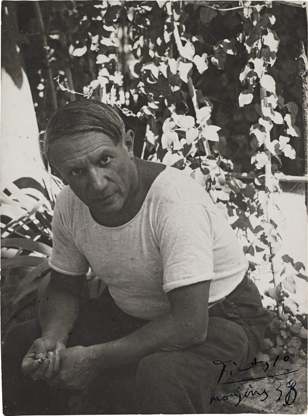Pablo Picasso, 1938