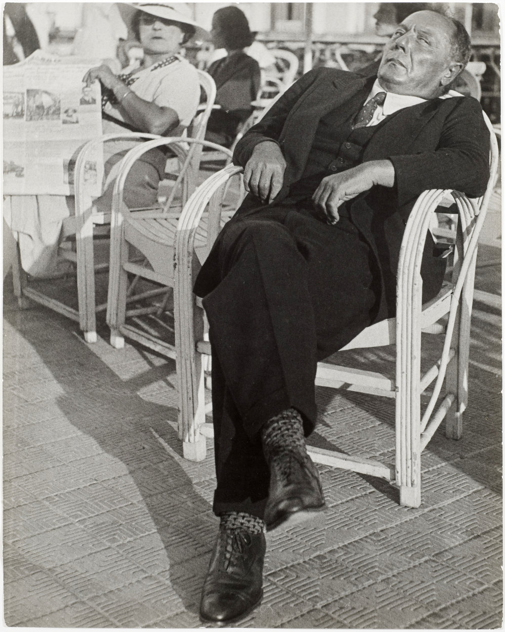 The Gambler, French Riviera, 1937