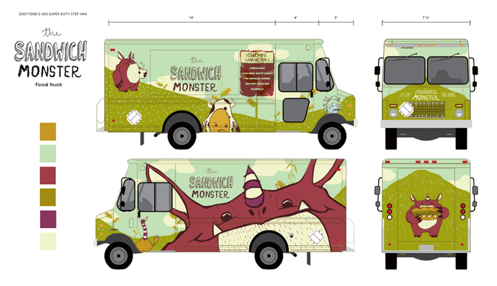 Pretty self explanatory. This was a design I did for a food truck during my time living in Atlanta, GA. i had a great time working on this piece and digging into food truck culture.