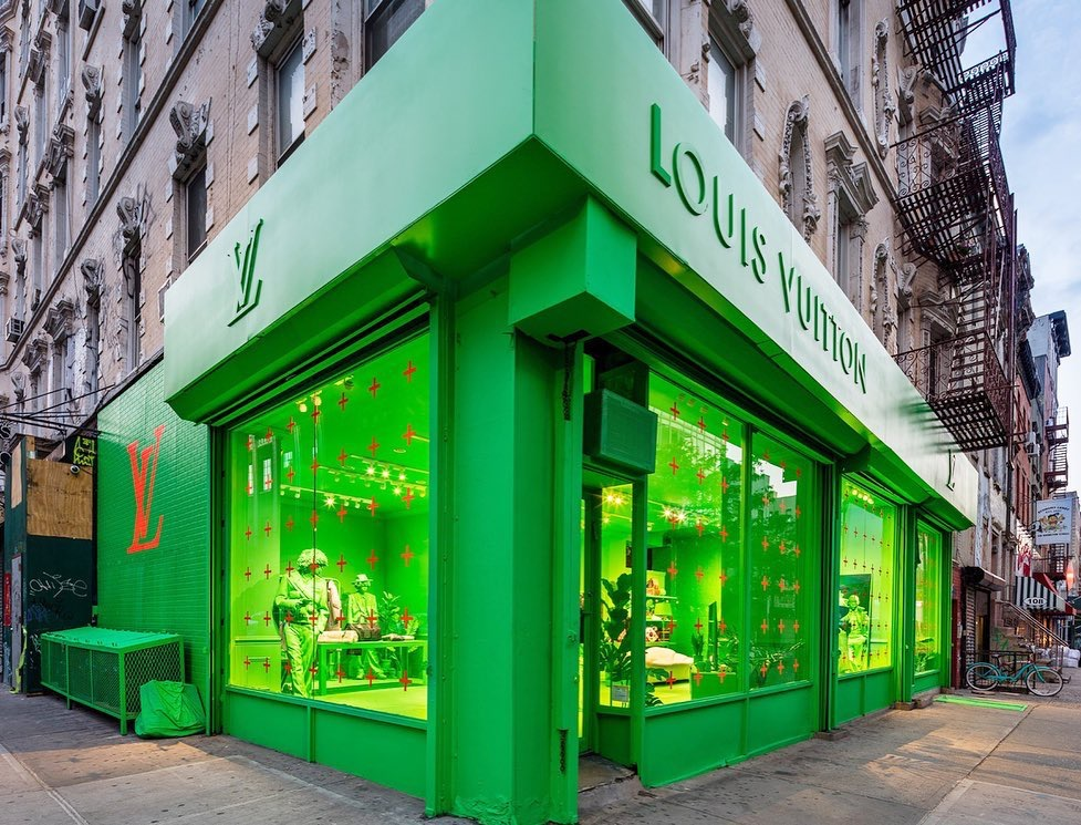 Louis Vuitton Pop Up Shop - NYC — WEARToFindH E R