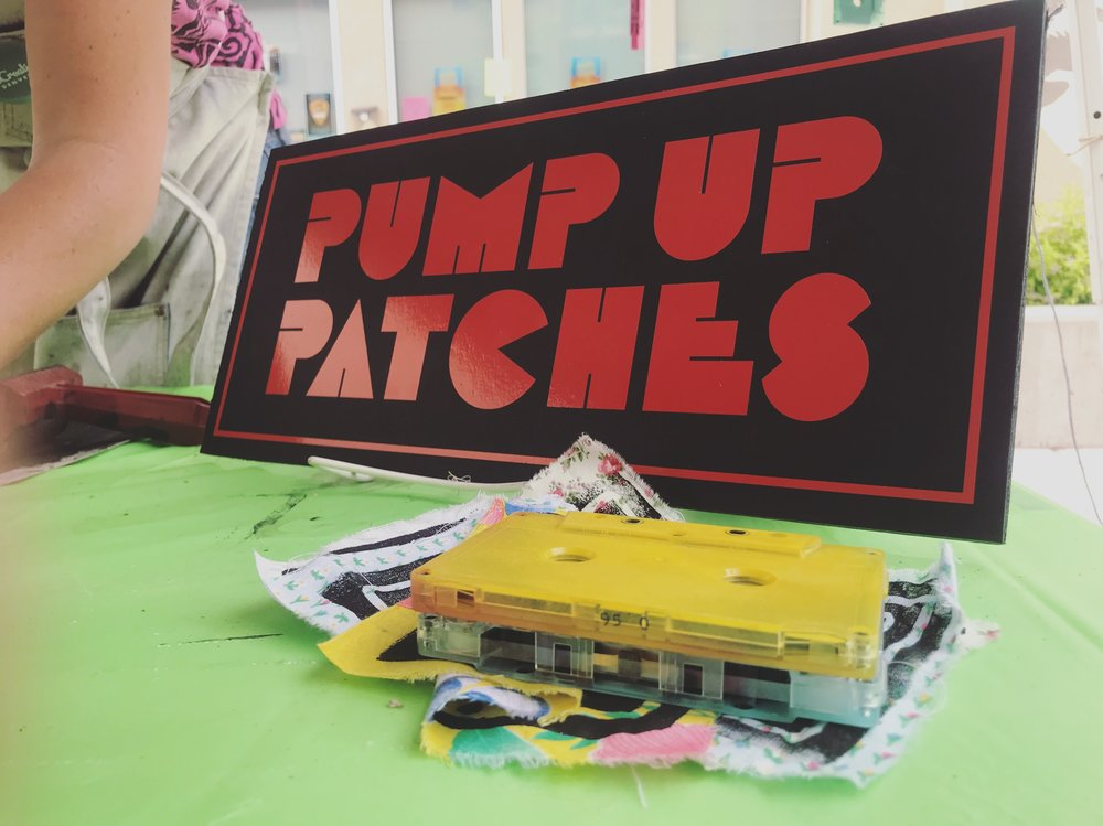 PUMP UP PATCHES
