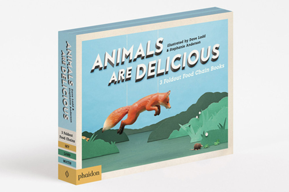 Animals are Delicious    A playful approach to an endlessly fascinating non-fiction topic for children, touching on two high-interest categories: animals and food   Role:  Author