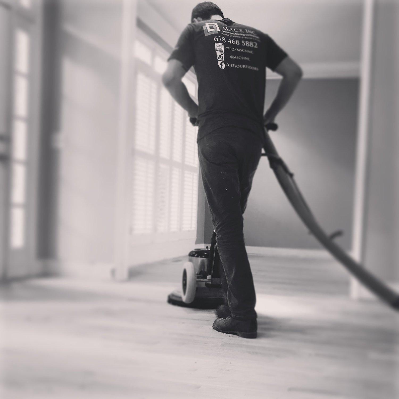 Hardwood floor refinishing Roswell