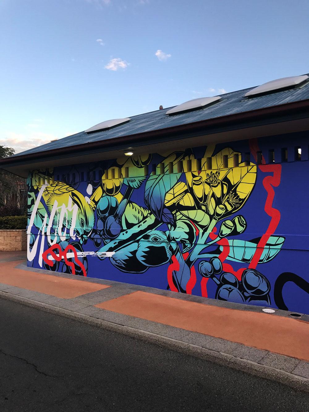 George Rose  Mural Artist georgerose.com Sydney