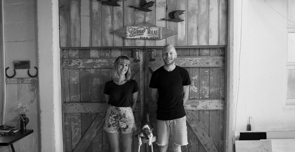 Rick Hayward & Emily Devers  Owner / Founder frankandmimi.com Brisbane, Australia
