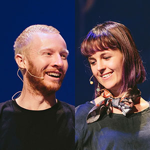 Rick Hayward & Emily Devers  Owner / Founder frankandmimi.com New Zealand