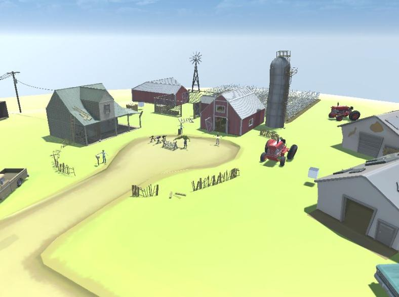 Current farm level layout