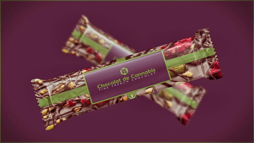 Chocolat De Cannabis