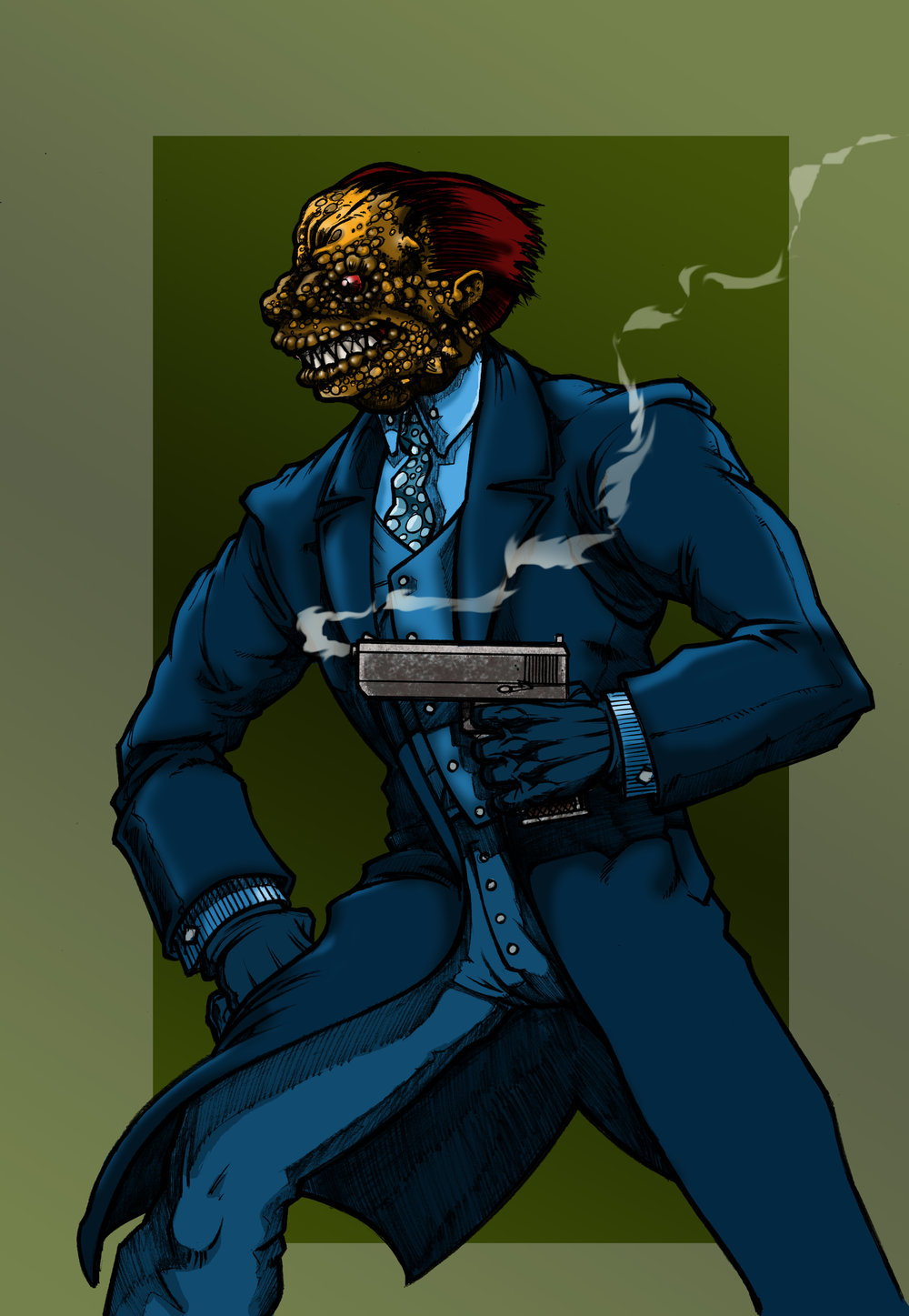 Gila Sonora. - A dapper and well dressed gunsel for the local Mexican gang, Gila packs a .45 and a poisonous bite. He soon becomes ambitious...