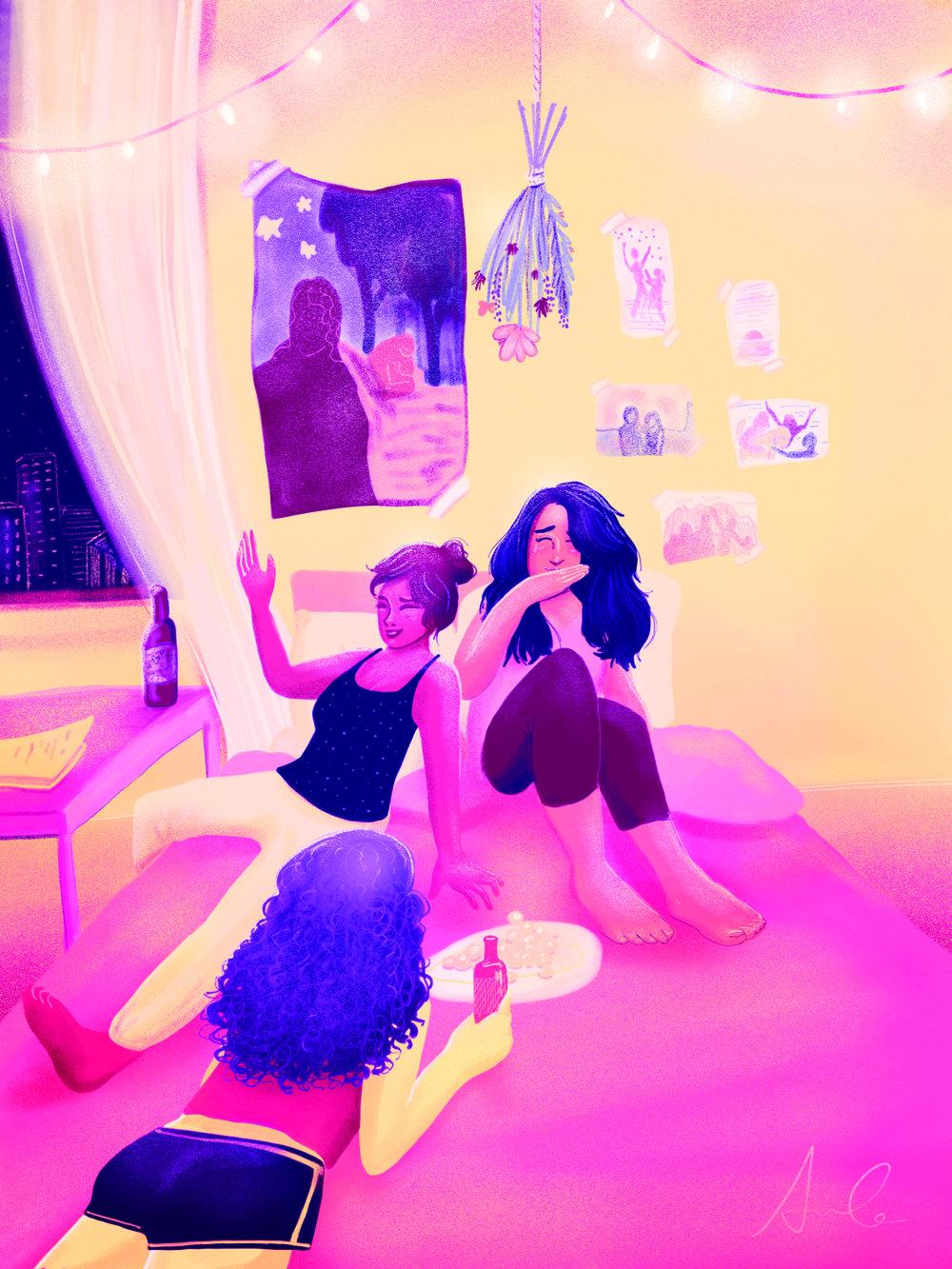 """Female Friendship"" by Sophie Calhoun"