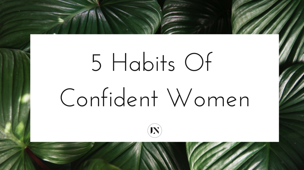 In this blog I'm talking about five things confident women do and what I've learned about habits of confident women over the past decade of ministry. Repin and read these confidence building tips to see if you have these five confidence habits!