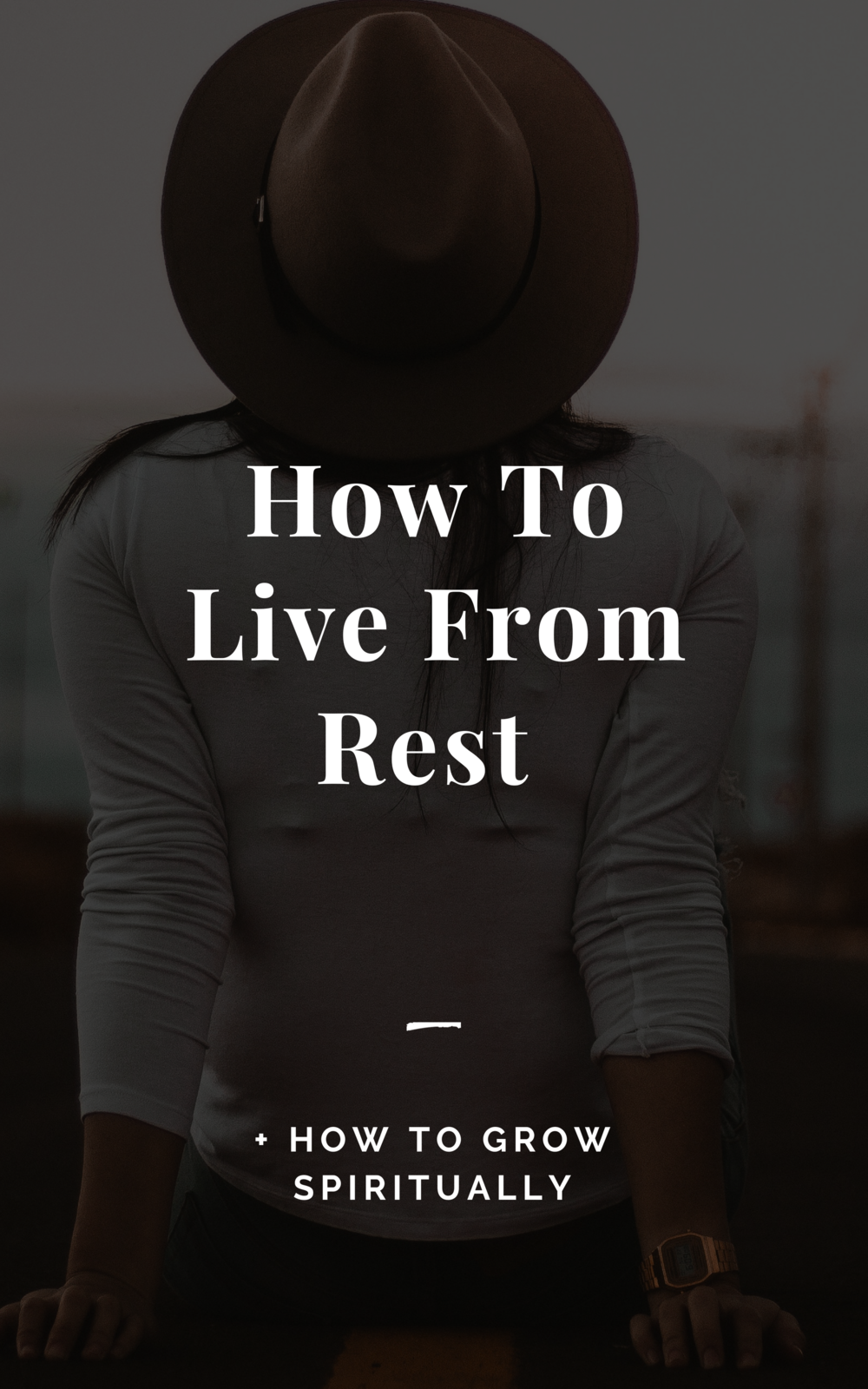 Learn the breakthrough for more spiritual rest    https://www.lindseynadler.com/blog/how-to-live-from-a-place-of-rest