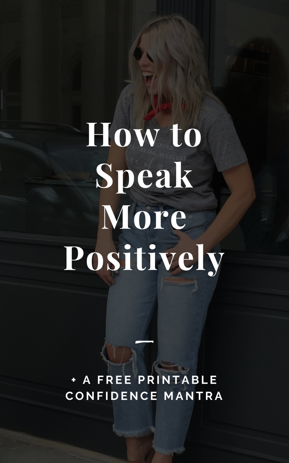 How to Speak More Positively