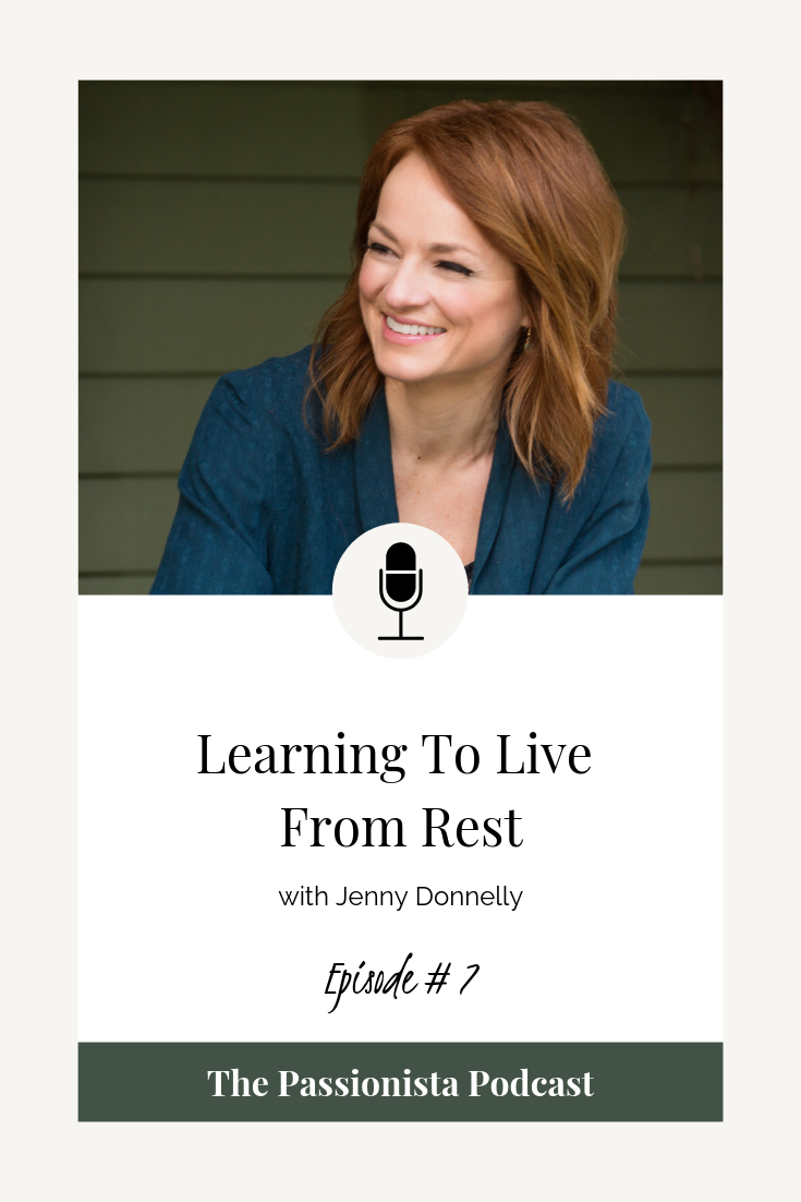 Learning to Live From Rest with Jenny Donnelly
