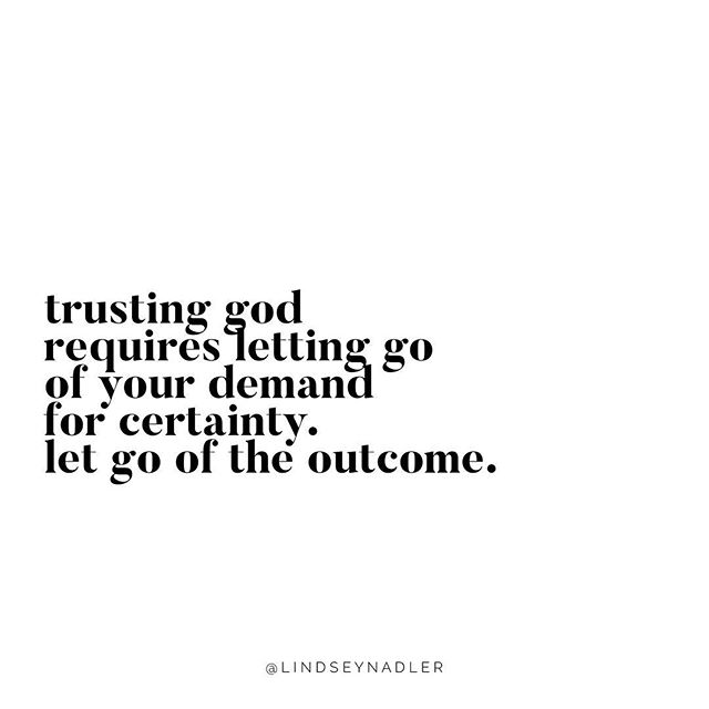 Remember that the only thing you can control is YOU and that's on a good day😜 Trusting means surrendering your need to have all the details, have it all figured out and letting go of fulfillment in life that's attached to a certain outcome. Don't wait for your life to start. Let go and LIVE. ⠀ .⠀ So-what are you trusting God with right now or let's be real having a hard time trusting God with right now? Post in the comments below! 👇🏻⠀ .⠀ Passion Is Everything ⠀ Lindsey ⠀ .⠀ .⠀ .⠀ .⠀ .⠀ #affirmations #positiveaffirmations #declarations #lifecoach #empowermentcoach #spiritualentreprenuer #empoweringwomen #speaklife #confidence #confidentwomen #passion #passioniseverything #passionista #spiritualgrowth #spiritualawakening #womenhelpingwomen #womenempoweringwomen #loveyourlife #selflove #selfcare #selfimprovement #soulcare #soulchaser #confidentwoman #buildingconfidence #spiritualquotes #spiritualjourney #faithbasedcoaching #faithbasedbusiness #womensempowerment ⠀