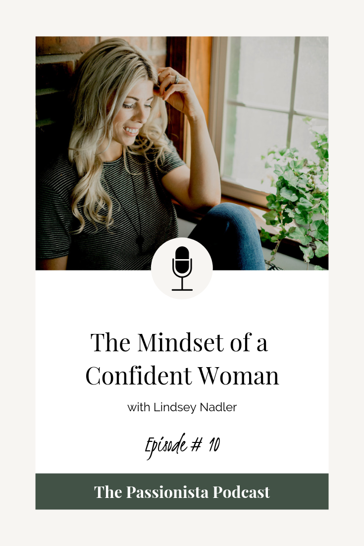 the mindset of a confident woman