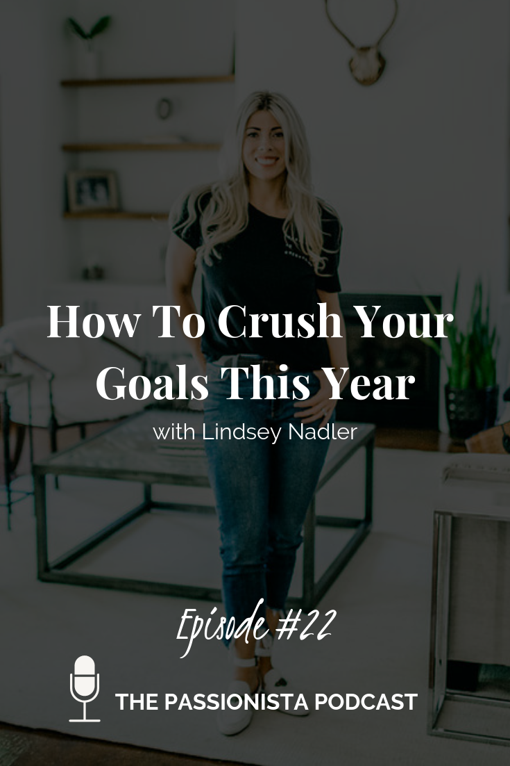 how to crush your goals this year