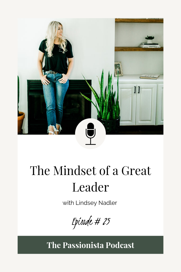 the mindset of a great leader